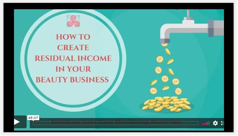 maxine drake How To Create Residual Income In Your Beauty Business