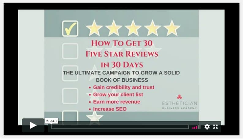 maxine drake How To Get 5-Star Google Reviews