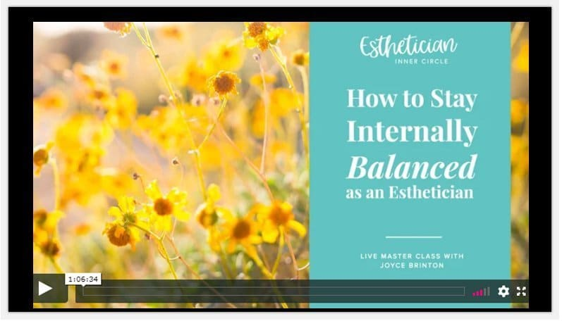 maxine drake How To Stay Internally Balanced As An Esthetician