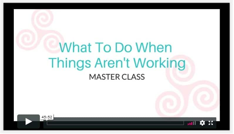 maxine drake What To Do When Things Aren't Working